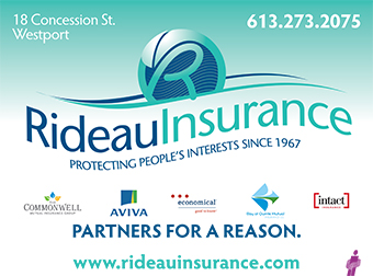Rideau Insurance, Westport, Elgin, Ontario